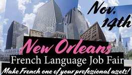 First French Language Job Fair in the U.S.!