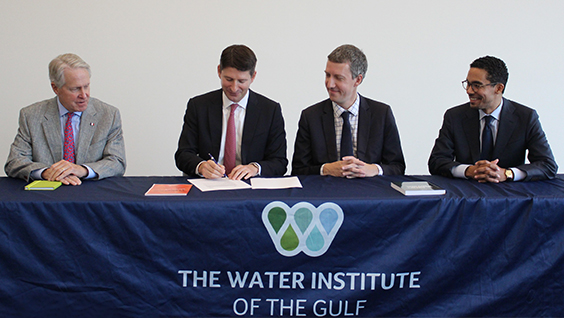 The Water Institute & EIVP MOU Signing - JPEG