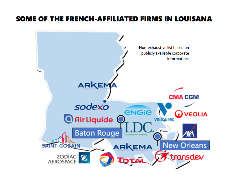French Companies in Louisiana - PNG
