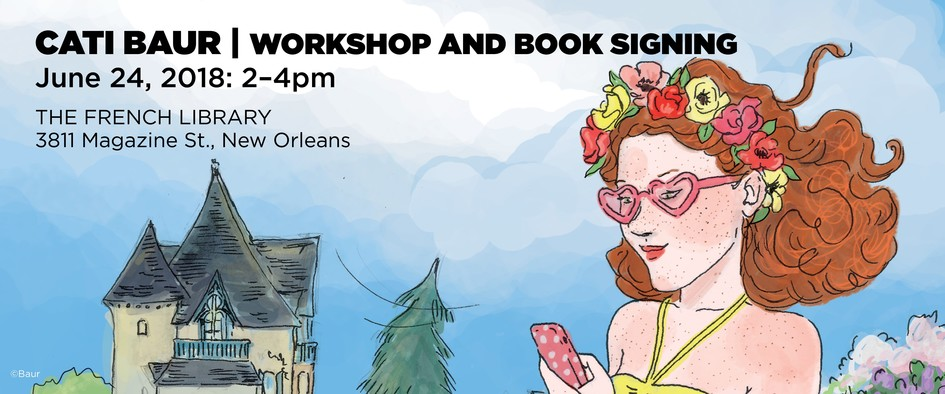 Cati Baur (Four Sisters) Art Workshop and Book Signing - JPEG