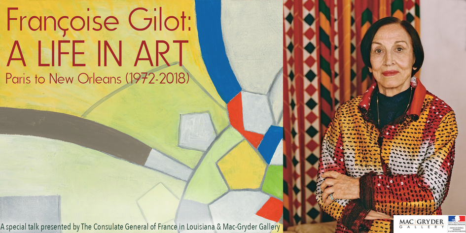 Françoise Gilot: A Life In Art - Paris to New Orleans (1972-2018) - JPEG