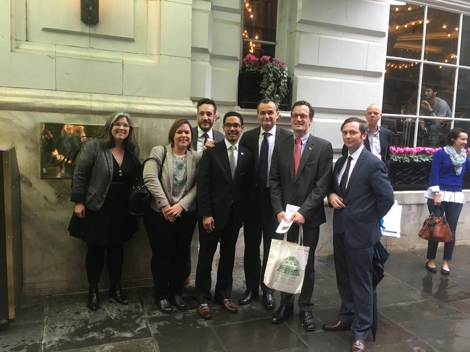 Premi re visite officielle de l ambassadeur en louisiane - Chambre de commerce franco americaine ...
